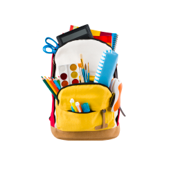 schoolsupplies backpack